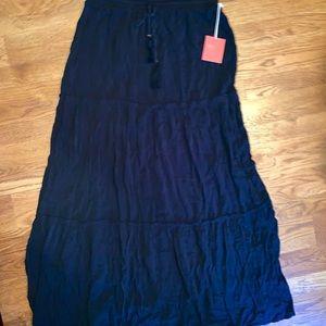 Xhilaration Skirts - Long black skirt